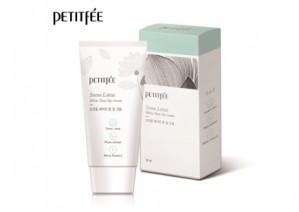 Увлажняющий и осветляющий крем для лица PETITFEE Snow Lotus White Tone Up Cream 50ml