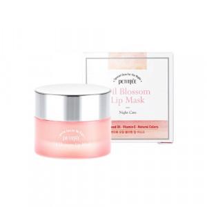 Ночная маска для губ с витамином Е и маслом камелии PETITFEE Oil Blossom Lip Mask 15g