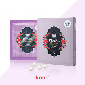 Гидрогелевая маска для лица с жемчугом KOELF Pearl & Shea Butter Hydro Gel Mask 30g