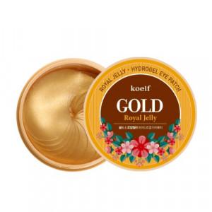 Гідрогелеві патчі для очей з золотом KOELF Gold & Royal Jelly Eye Patch 60шт