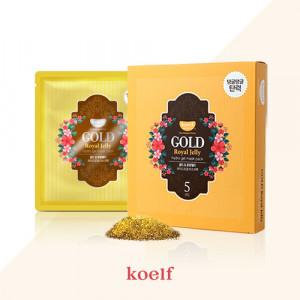 Гідрогелева маска для обличчя з золотом KOELF Gold & Royal Jelly Hydro Gel Mask