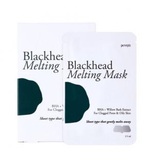 Тануча маска для носа проти чорних точок PETITFEE Blackhead Melting Mask 2.5ml - 1шт